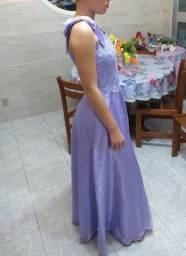 Vestido de festa lilás com um ótimo preço