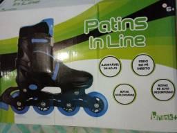 Patins Inline Novo