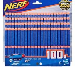 Lançador de Dardos - Nerf Elite - 100 Dardos com Refil - Hasbro