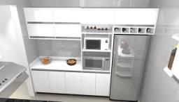 Armário de cozinha Planejado 100% MDF. Inferior e superior. Móveis Planejados