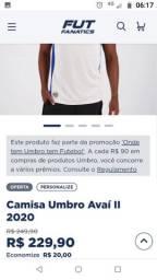 Camisa do Avaí nova 2020.