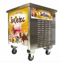 Máquina de sorvete tailandês (na chapa)