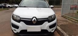 Renault sandero step  1.62015/16 completo única dona só DF 4peneus novos