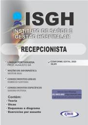 Apostila Recepcionista (ISGH hospital leonardo da vinci) - impressa 2020