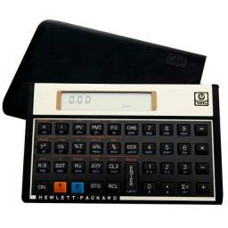 Calculadora financeira hp 12c gold nova com tudo