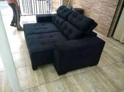 Sofa na promoçao relampago de fabrica . 2m retratil e reclinavel