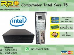 Computador Intel Core i5 3.2 Ghz + 04 gb + Hd 320 gb Gabinete Slim