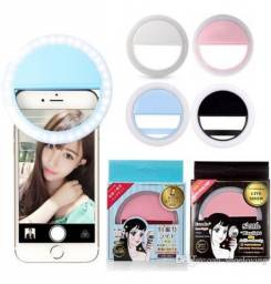 Luz De Selfie Ring Light Anel Led Flash