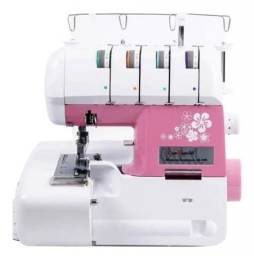 Máquina de costura overloque Sun Special Sun Point SS-320 rosa 110V<br><br>