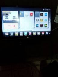 TV 32 Lg digital smart ler o anúncio.