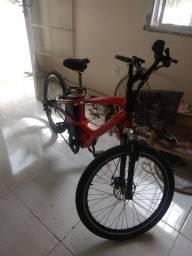 Bicicleta elétrica Dafra  DBL alumínio