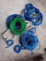 Cabos de rede usados