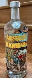 1 vodka Absolut coleção KARNIVAL original