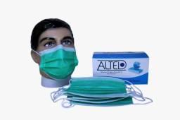 Direto do Fabricante Máscara Cirúrgica Descartável Tripla camada R$39,90