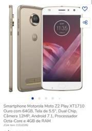 Celular Moto z 2 play 64 g