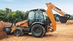 Retroescavadeira Case 580n 4x4 Cabinada 2020