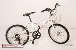Bicicleta Ceci com cesto aro 20 7 marchas