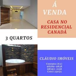 VENDO CASA NO RESIDENCIAL CANADÁ