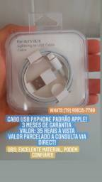 CABO USB(IPHONE)