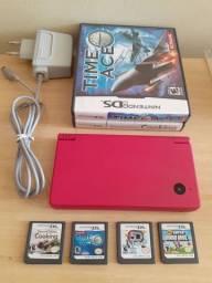 Nintendo dsi + 4 jogos