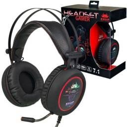 Fone de headset gamer kp-401