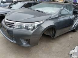 Sucata Toyota Corolla GLI 1.8 CVT 2016 para retirada de peças