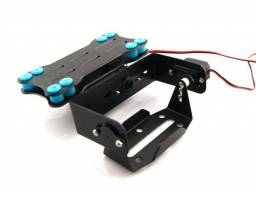 Estabilizador Gimbal 2 servos Drone Aeromodelismo Gopro Phantom F450 F550 Walkera Robotica