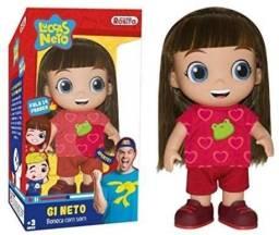 Boneca Gi Neto com som original