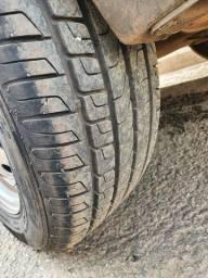 Rodas 15 pneus novos