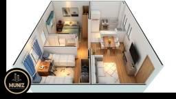 Título do anúncio: 2 Apartamento , 2 quartos, piscina, Você não paga nada até ser aprovado no banco