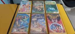 Fitas Cassetes Clássicos Disney
