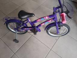 Bicicleta infantil feminina nova