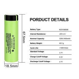Bateria recarregável 3000mah