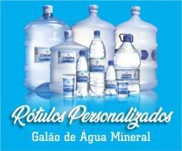 Rótulos p/ Galão de Água Mineral