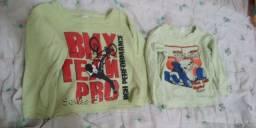 Blusas infantil de manga comprida