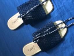 Sandália rasteira ( sapato )