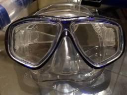 Snorkel Seasub Máscara + Respirador/ Utilizado Apenas 1 Vez 1visita