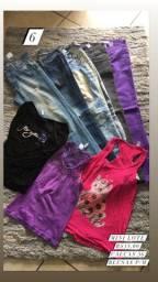 Mini lote roupas