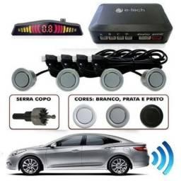 Sensor Estacionamento Ré 4 Sensores Display Cores/ Consulte