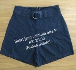 Short jeans variados