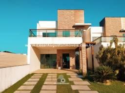 Casas duplex em condomínio alto padrão no Eusébio - Pronta Entrega!