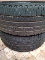 Pneus Bridgestone 205/55/16 Meia Vida