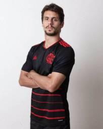 Camisa Adidas Flamengo Preta 2020 - Aceitamos cartoes
