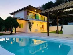 Casa 4 suítes em Buscaville, piscina, área goumert!!