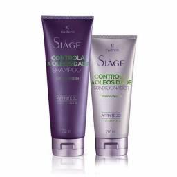 Shampoo e Condicionador Siàge Controla a Oleosidade