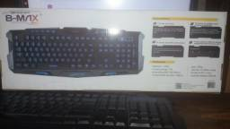 Vendo kit teclado com led + mouse 1600 dpi
