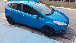 New Fiesta SE 1.6 azul Califórnia ano 2014 - Impecável- Completo