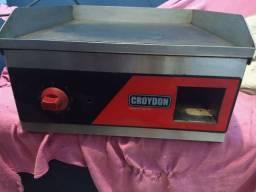 Chapa e churrasqueira elétrica croydon usada