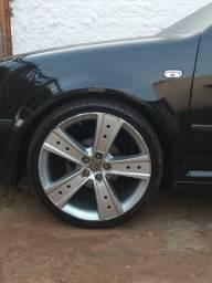 Jogo rodas aro 19 com pneus perfil baixo