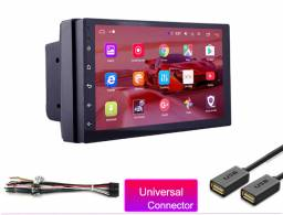 Multimídia 2 Din Com Wifi E Gps Com Sistema 100% Android